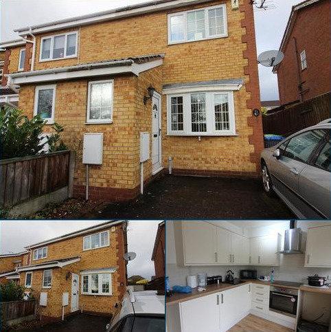 2 bedroom semi-detached house to rent - 22, Minster Close, Hucknall, Nottingham NG15