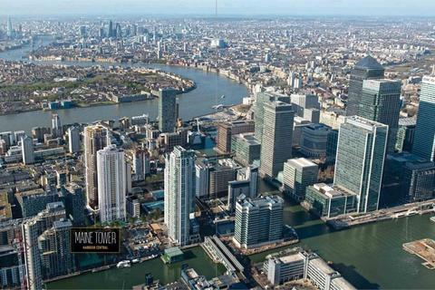 2 bedroom flat for sale - Maine Tower, Harbour Central, London