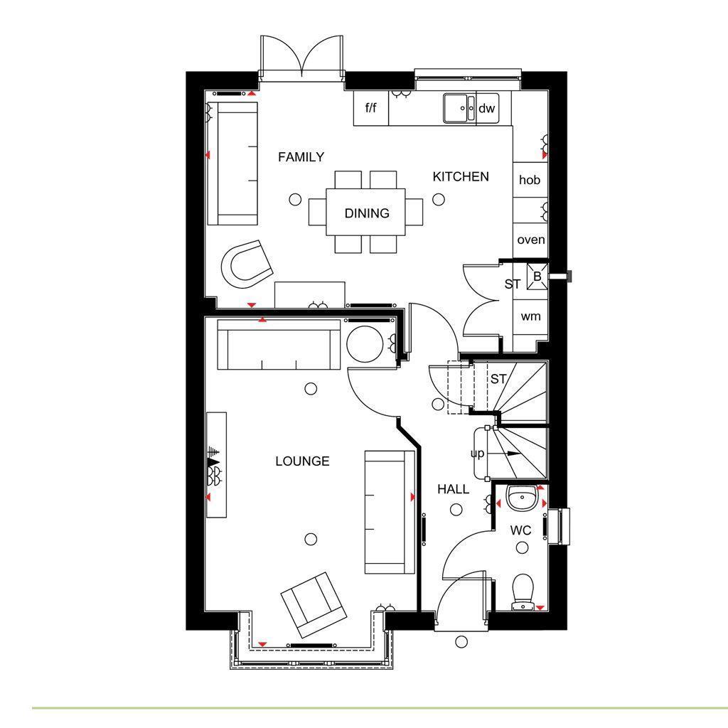 Floorplan 1 of 2: Chesham Ground floor