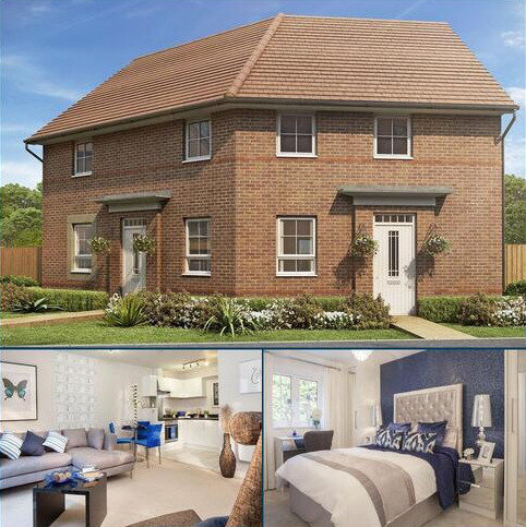2 bedroom detached house for sale - Plot 160, LAYTON at Barratt Homes @Mickleover, Etwall Road, Mickleover, DERBY DE3