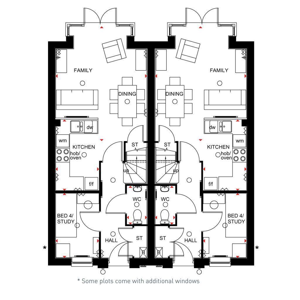 Floorplan 1 of 3: Rochester ground floor