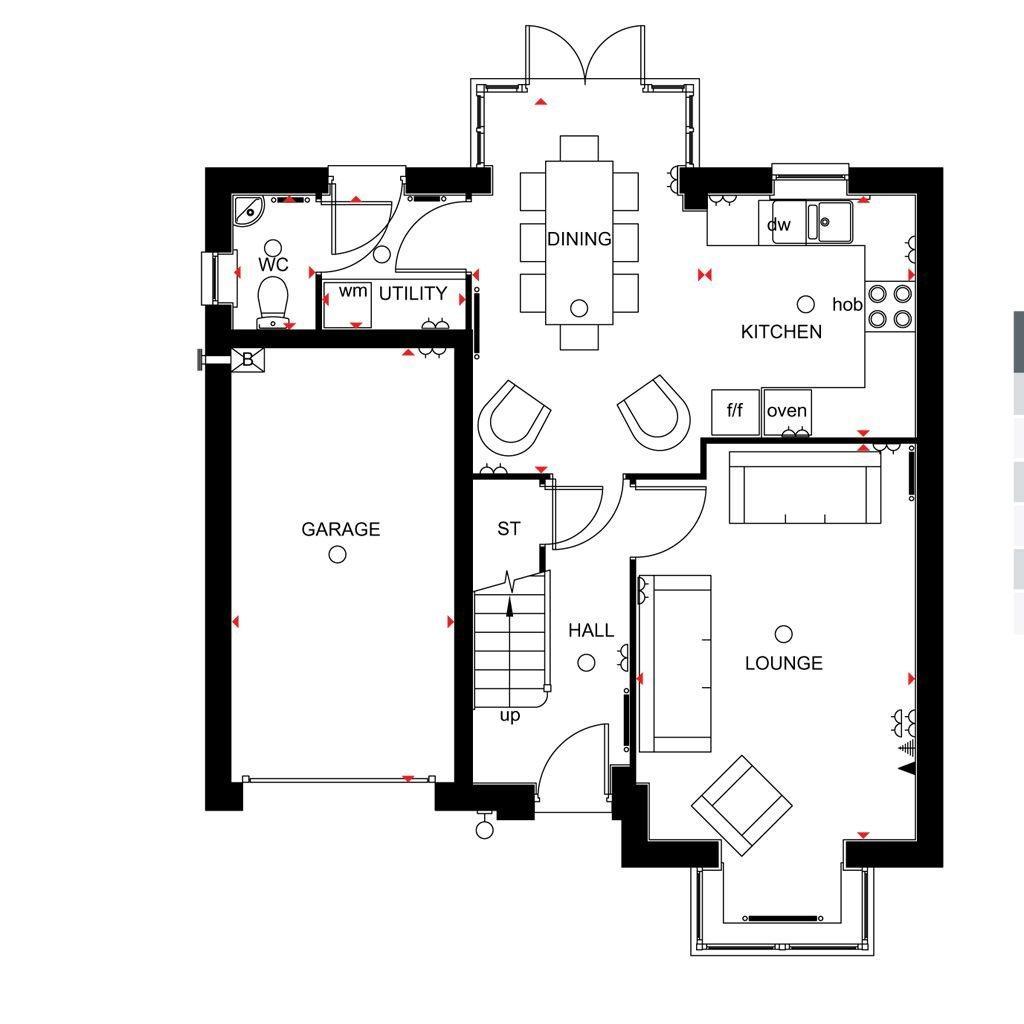 Floorplan 2 of 2: Somerton Ground floor