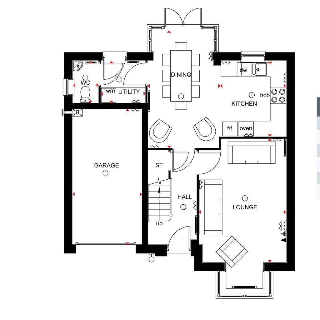 Floorplan 1 of 2: Somerton Ground floor