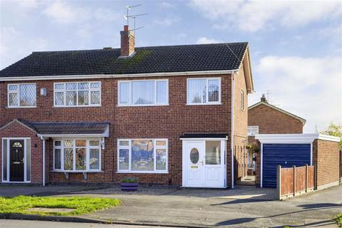 3 bedroom semi-detached house for sale - Roston Drive, Hinckley