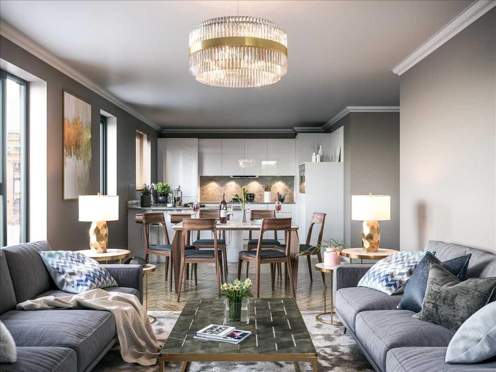 Example of Interior Kitchen/Dining/Lounge