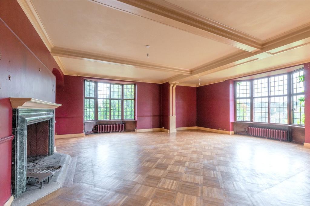 Milhanger formal reception area