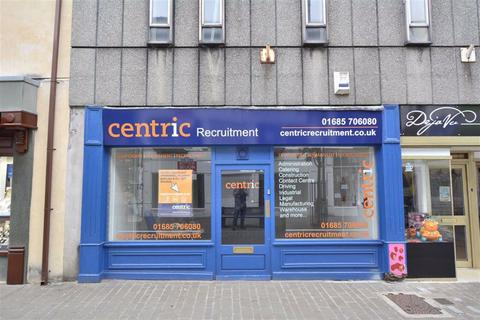 Shop to rent - Commercial Street, Aberdare, Rhondda Cynon Taff