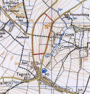 Land for sale - 36.7 Acres at Tegryn, Llanfyrnach