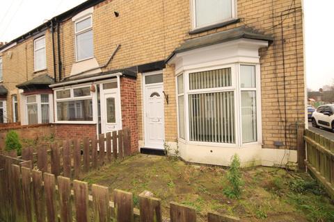 2 bedroom end of terrace house to rent - Elsternwick Avenue, Durham St, Hull, HU8