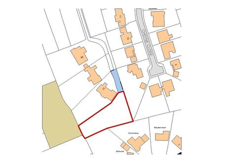 Land for sale - Land adj to 72 Dukes Wood Drive