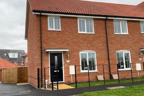 3 bedroom end of terrace house to rent - Fuller Way, Stowmarket