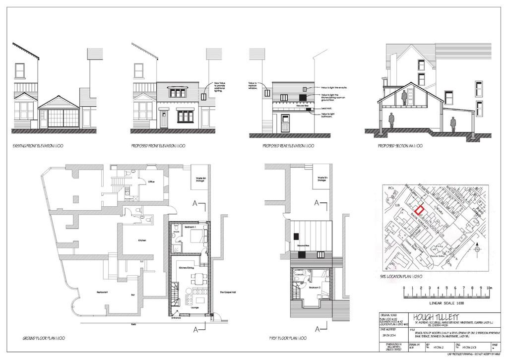 2 Bedrooms Land Commercial for sale in DEVELOPMENT OPPORTUNITY The Chalet, Bank Terrace, Bowness-On-Windermere, LA23 3BL