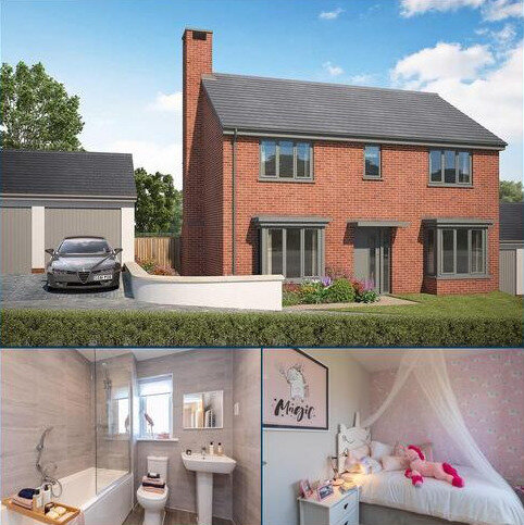 4 bedroom detached house for sale - Plot 176, The Berrington at White Rock, Brixham Rd, Paignton, Devon TQ4