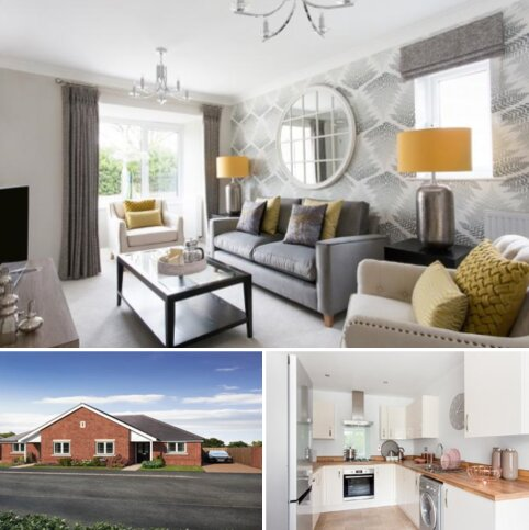2 bedroom semi-detached bungalow for sale - Plot The Buxton, The Buxton at Meadow Bank, Gateway Avenue ST5