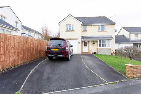 4 bedroom detached house for sale - Badgers Brook Rise, Ystradowen