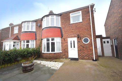 3 bedroom semi-detached house to rent - Sandringham Drive, West Monkseaton