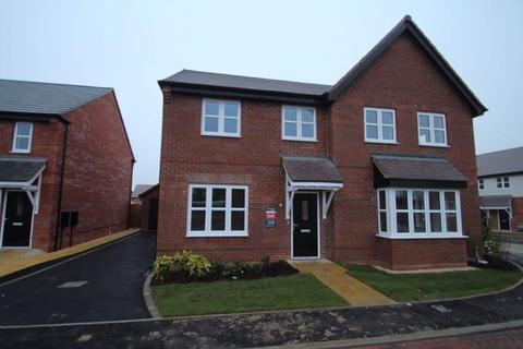 3 bedroom semi-detached house to rent - Tollgate Close, Cottage Farm, Oadby, Leicester, LE2 4TZ