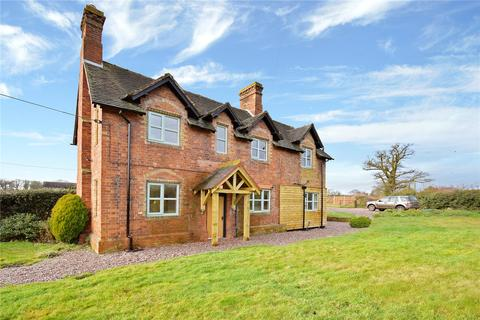 3 bedroom semi-detached house for sale - 1 Grange Cottages, Knighton, Stafford, Staffordshire, ST20