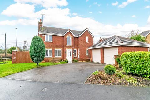 4 bedroom detached house for sale - Redacre Close, Dutton, Warrington