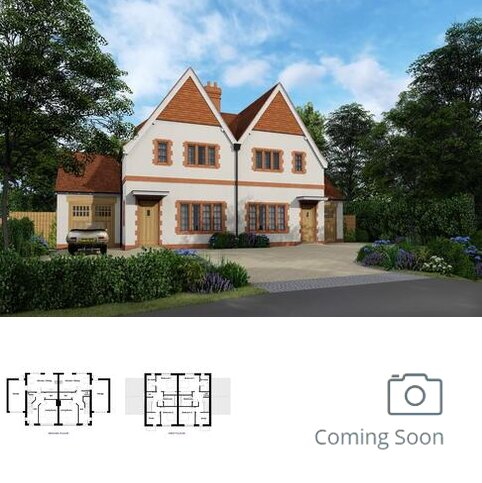 3 bedroom semi-detached house for sale - Plot Edwin (Plots 2,4 &11), Arts and Crafts at The Gables, Lloyd George Gardens, Tilford Road GU10