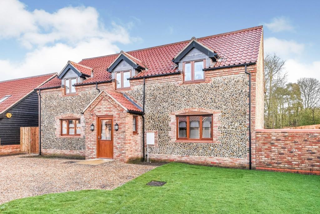 Hall Farm Barns, Gayton 4 bed barn conversion for sale