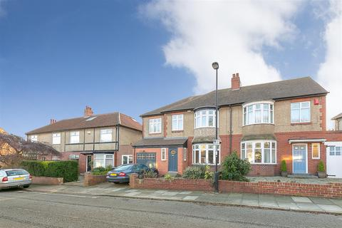 5 bedroom semi-detached house for sale - Grosvenor Avenue, Jesmond, Newcastle upon Tyne