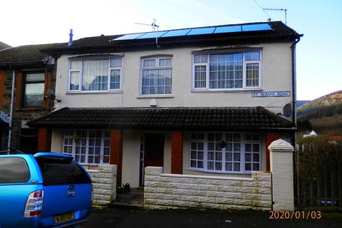3 bedroom end of terrace house for sale - St. Albans Road, Tynewydd, Rhondda Cynon Taff. CF42 5DD