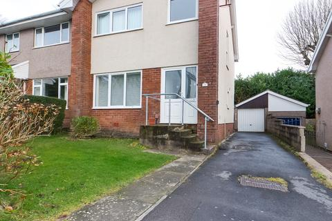 3 bedroom semi-detached house to rent - Beaconsfield Way, Sketty, Swansea, SA2 9JP