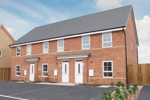 3 bedroom end of terrace house for sale - Plot 9, Maidstone at Berry Edge, Genesis Way, Consett, CONSETT DH8
