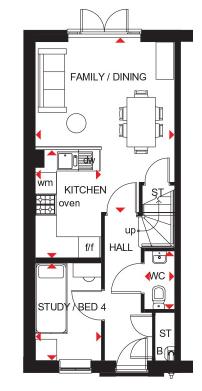 Floorplan 1 of 3: Kingsville gf