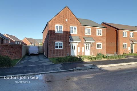 3 bedroom semi-detached house for sale - Wrenbury, Nantwich