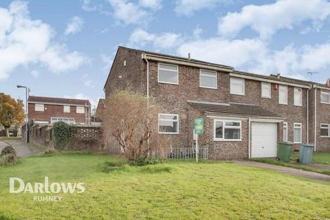 3 bedroom end of terrace house for sale - Lyncroft Close, Cardiff