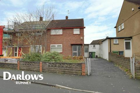 3 bedroom end of terrace house for sale - Cheddar Crescent, Llanrumney, Cardiff