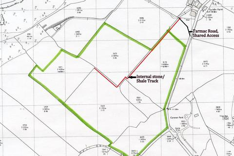 Land for sale - Approx. 29 Acres Land near Ty Hen, Sarnau
