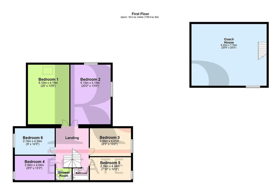 Floorplan 4 of 4: Evaglades, Lower Bentham, Lancaster   Floor 1 (2).