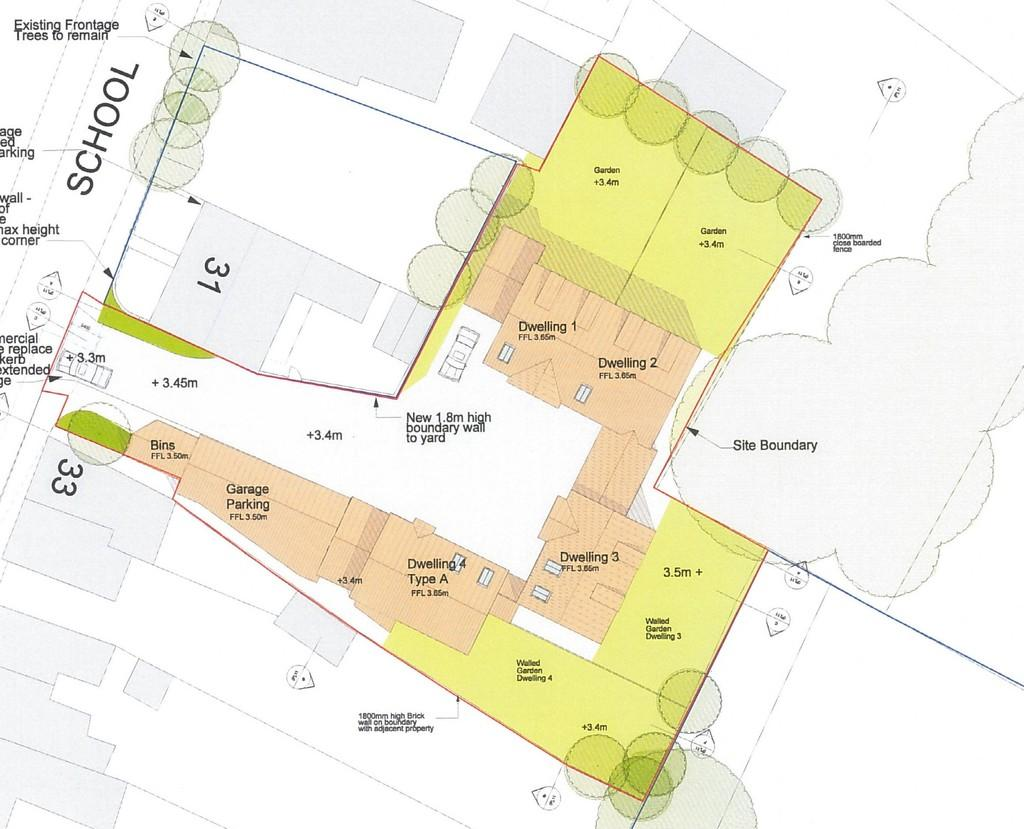 Land Commercial for sale in School Road Upwell