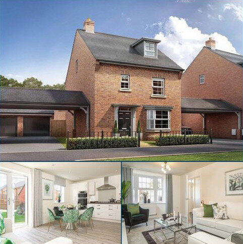 4 bedroom detached house for sale - Plot 2, Bayswater at DWH Orchard Green @ Kingsbrook, Burcott Lane, Aylesbury, AYLESBURY HP22