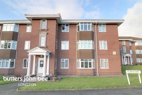 1 bedroom flat for sale - St Pauls Court, Longton, ST3 2HJ