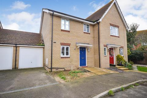 3 bedroom semi-detached house for sale - Medley Way, St. Lawrence