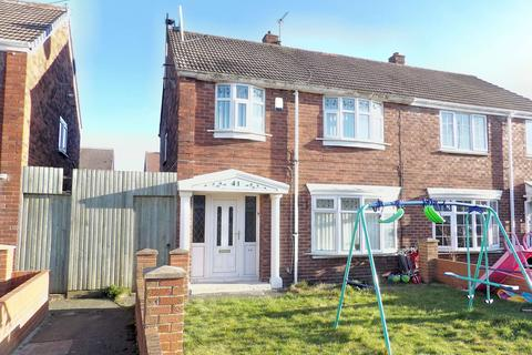 3 bedroom semi-detached house for sale - Rodin Avenue, Whiteleas , South Shields, Tyne and Wear, NE34 8HY