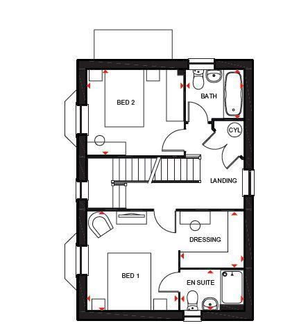 Floorplan 2 of 3: Hertford