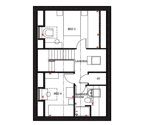 Floorplan 3 of 3: Hertford