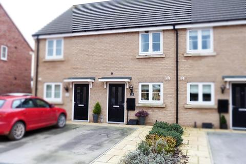 2 bedroom terraced house for sale - 14 Butler Drive, Market Weighton, YO43 3FT