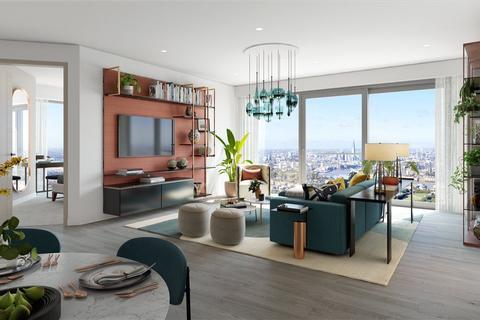 2 bedroom flat for sale - Marsh Wall, London, E14
