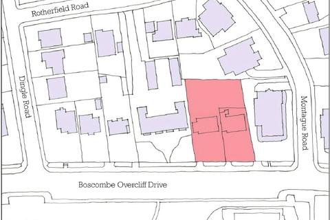 Land for sale - 69-71, Boscombe Overcliff Drive, Bournemouth, BH5