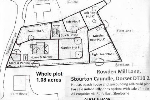 4 bedroom detached house for sale - Rowden Mill Lane, Stourton Caundle, Dorset, DT10