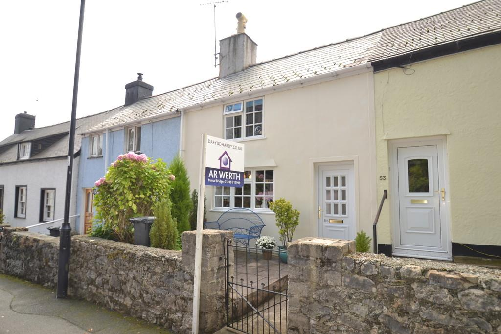 2 Bedrooms Terraced House for sale in Wexham Street, Beaumaris, Anglesey