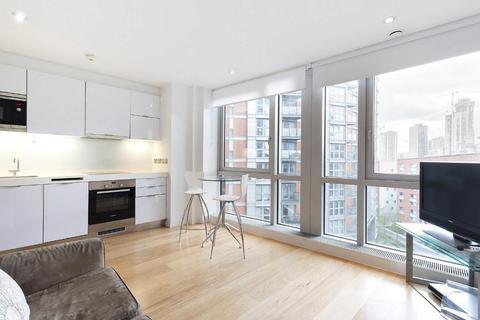 Studio to rent - Ontario Tower, Fairmont Avenue, Blackwall, London, E14 9JB