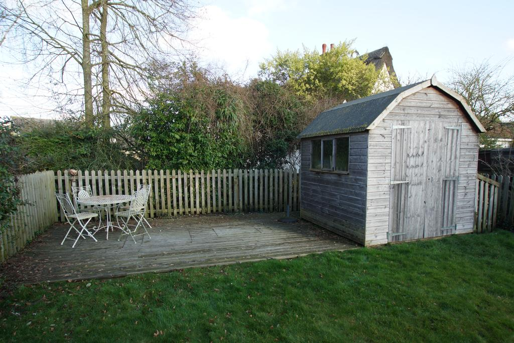 Deck and Shed