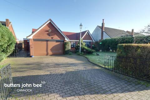 3 bedroom detached bungalow for sale - Lichfield Road Hamstall Ridware, Rugeley